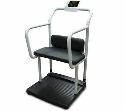 Rice Lake 133120 1000lb X 0.2lb, 250-10-4 Scale With Handrail And Chair Seat