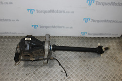 Bmw M2 F87 2 Series Rear Diff Differential With Half Prop