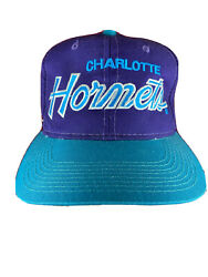 Vintage Charlotte Hornets Snapback Hat Spors Specialists Nba The Twill