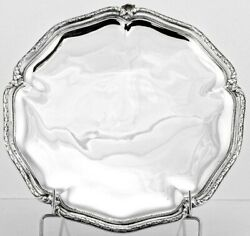 E. Puiforcat Antique French Sterling Silver Cake Serving Dish Centerpiece Tazza