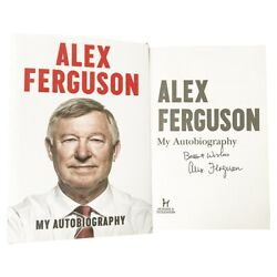 Signed Alex Ferguson Book - My Autobiography Manchester United Icon +coa