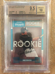 2008 Playoff Contenders Giancarlo Mike Stanton Rc / Auto Bgs 9.5/10 /149 Only