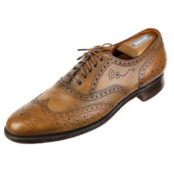 Edward Green For Nordstrom 201 4506 Sz. 10.5 B Oxford Dress Shoes Antique Brown