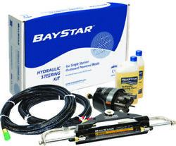 Baystar Compact Hydraulic Steering System With Hh43143 Std Helm W/20 Tubing