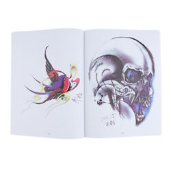 108 Pages European Style Body Art Tattoo Flash Designs Tattoo Reference Book