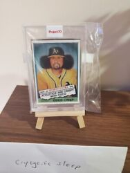 In Hand Topps Project 70 78 Coco Crisp By Jonas Never Artist Proof 50/51