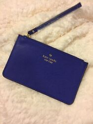Kate Spade New York Wristlet Wallet NWT MSRP $88 Royal Blue $24.00