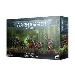 Warhammer 40k Space Marines Blood Angels Death Company New In Box