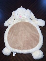 1 New With Out Tags Bestever Baby Mat Mary Meyer Soft Bunny Cream And Brown