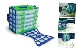 Locker Pack 6 Piece Set Including 1 Locker And 5 Tackle Boxes With Large