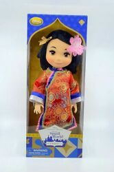 Disney Animators Collection Doll - It's A Small World China Singing Doll Retired