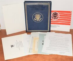 Franklin Mint Presidential Commemorative Medal Coin Set American Express Edition