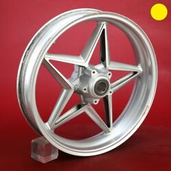 Mv Agusta Brutale 750 Front Wheel 17 X 3.5 See Video 2003 2005 Id81276