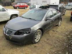 Driver Front Door Sedan With Center Moulding Package Fits 05-10 G6 331083