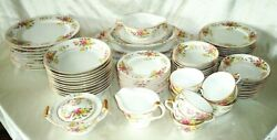 Maruichi Made In Occupied Japan Fine China 76pc 1945-52 Formal Dish Set