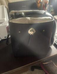 NWT Kate Spade Marti Small Leather Bucket Bag Shoulder Bag in Black $150.00