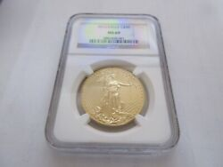 2013 , American Eagle Gold , 50 , Ngc , Ms-69 , Gold 50 , One Ounce