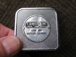Vintage E.o. Mitcchell Inc. Arvin-bakersfield Ca Pocket 6and039 Tape / Rule 1.5x1.5