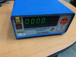 Compliance West Ht-2800 Dielectric Withstand Hipot Tester 0-2800 Volt Dc Output