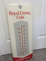 Vintage Advertising Royal Crown Cola Thermometer Soda Fountain Store A-482