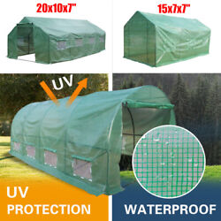 Heavy Duty Greenhouse Large Portable Walk-in Hot Green House Plant Gardening Us
