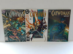 Catwoman Showcase 93 - 1 And 2 + Catwoman Defiant - Free Shipping