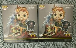 Funko Pop Aquaman Dc Collection By Jim Lee Gamestop Deluxe Size M/l - Read