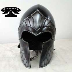 Medieval Knight Wing Helmet - For Full Plate - Larp, Medieval, Cosplay Costume