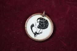 Antique Whitehead And Hoag Telephone Switchboard Operator Brass Charm Fob Rare