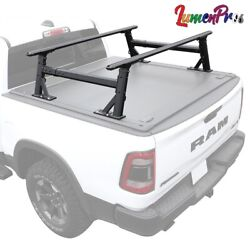 Fit F150 Truck Bed Height Adjustable Lumber Ladder Heavy Duty Haul Utility Rack