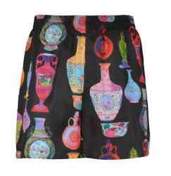 Versace Menand039s Multicolor Graphic Print Shorts