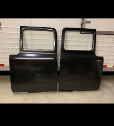 1956 Ford Pickup Doors - Pair These Fit All F Series Trucks. F-100 And Up