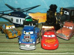 Disney Store Pixar Cars Planes Trains Cars And More Displayed Only