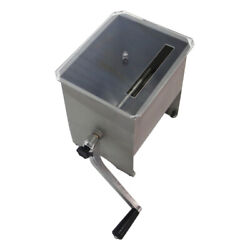Meat Mixer W/ 20lb Stainless Steel Hopper Non-skid Rubber Foot Removable Kitchen