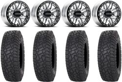 Raceline Ryno Bdlk 15 Mh Wheels 33 X Comp At Tires Can-am Maverick X3