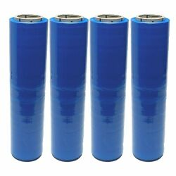 Blue Vci Hand Stretch Corrosion Protection Film 18x1500and039 100 Ga - 40 Rolls