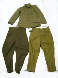 Imperial Japanese Army Non-commissioned Officers Jacket Pants Military Antique