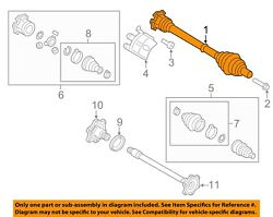 Audi Oem 2018 Sq5 Front Suspension-axle Assembly 80a407271d