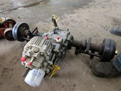 John Deere F925 Front Mower Transmission And Axle Housings Used Am119153...