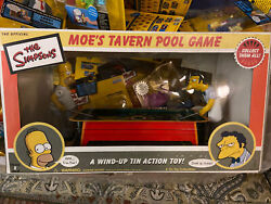 The Simpsons Pool Game Moe's Tavern In The Original Box Unopened