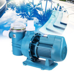 110v Swimming Pool Filter Circulating Water Pump Suction Treatment Equipment