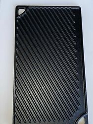Lodge Cast Iron Non-stick Griddle 16-3/4in X 9-1/2in Reversible Griddle/grill
