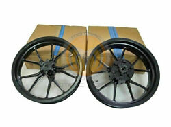 Fit For Ktm Rc 390 Racing Bike Front And Rear Wheel Rim Black 2013 To 2016