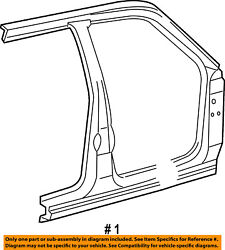 Ford Oem 03-05 Explorer Sport Trac-uniside Assembly Left 3l2z35211a11aa