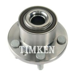 Wheel Bearing And Hub Assembly-awd Front Timken Fits 2008 Land Rover Lr2