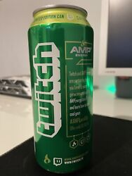 Twitch Tv Amp Energy Limited Edition Extremely Rare Unopened Mountain Dew