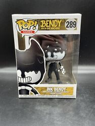 Funko Pop Bendy And The Ink Machine Ink Bendy 289 Vinyl Figure With Protector