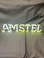 Neon Sign Repair Tube Amstel Beer 17andrdquox3andrdquo Replacement Tube