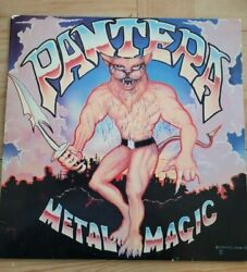 Pantera Metal Magic Vinyl Record Signed By The Band With Flyer Of Signing Event