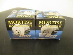 Lot Of 2 Ilco Brass Mortise Cylinder D216 New In Box